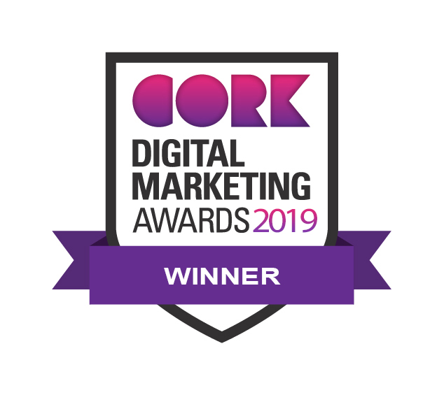 Cork Digital Marketing Awards Winner