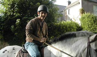 Learn English and horse-riding with Cork English College