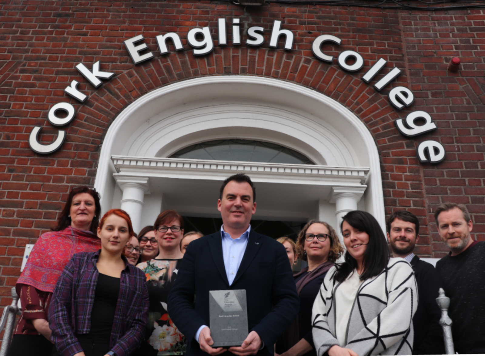 Best Language School Award for CEC-Cork English College