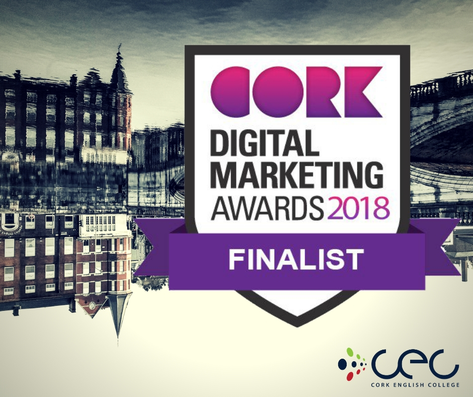 Finalist Cork Digital Awards