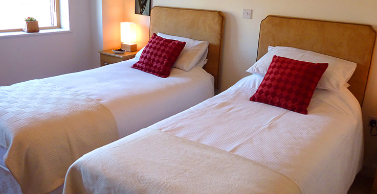 Self-Catering Apartments Twin room in Cork